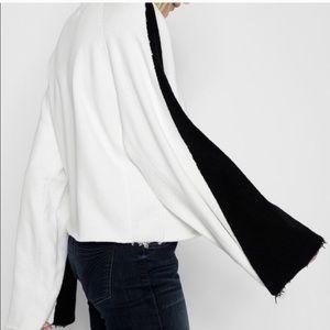 7 for mankind flare sleeve sweatshirt Xs